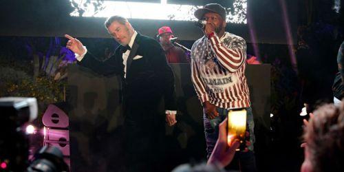 Ջոն Տրավոլտան Կաննի կինոփառատոնում պարել է 50 Cent-ի երգի հնչյունների ներքո