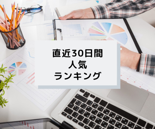 マーケティング/集客の直近30日間人気ランキング