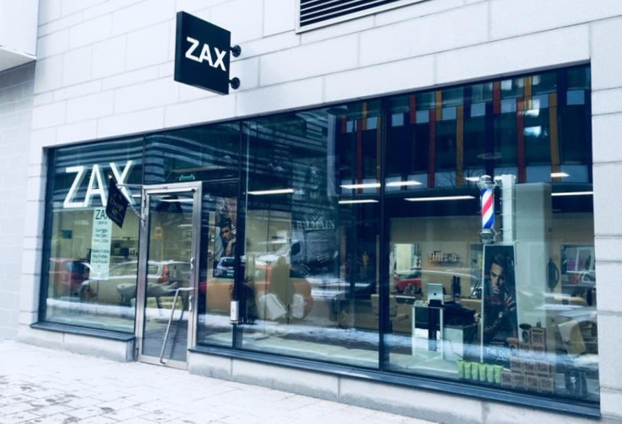 zax barbershop priser