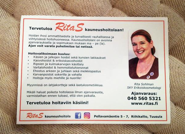 RitaS Kauneushoitola