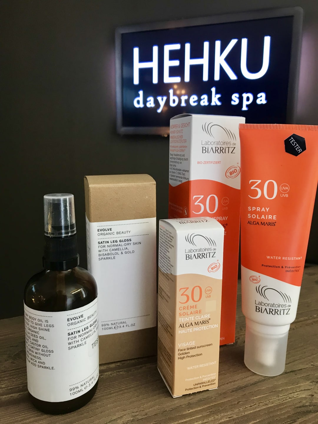 HEHKU daybreak spa