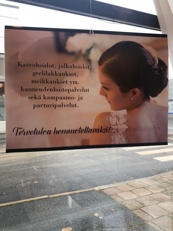 Parturi-kampaamo ja kauneushoitola Hiuslinja, Sastamala