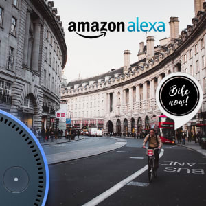 Bike Now! - Alexa Skill that help to find the number of bikes available in London