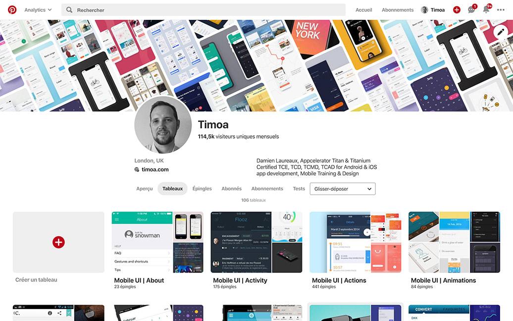 Pinterest Timoa
