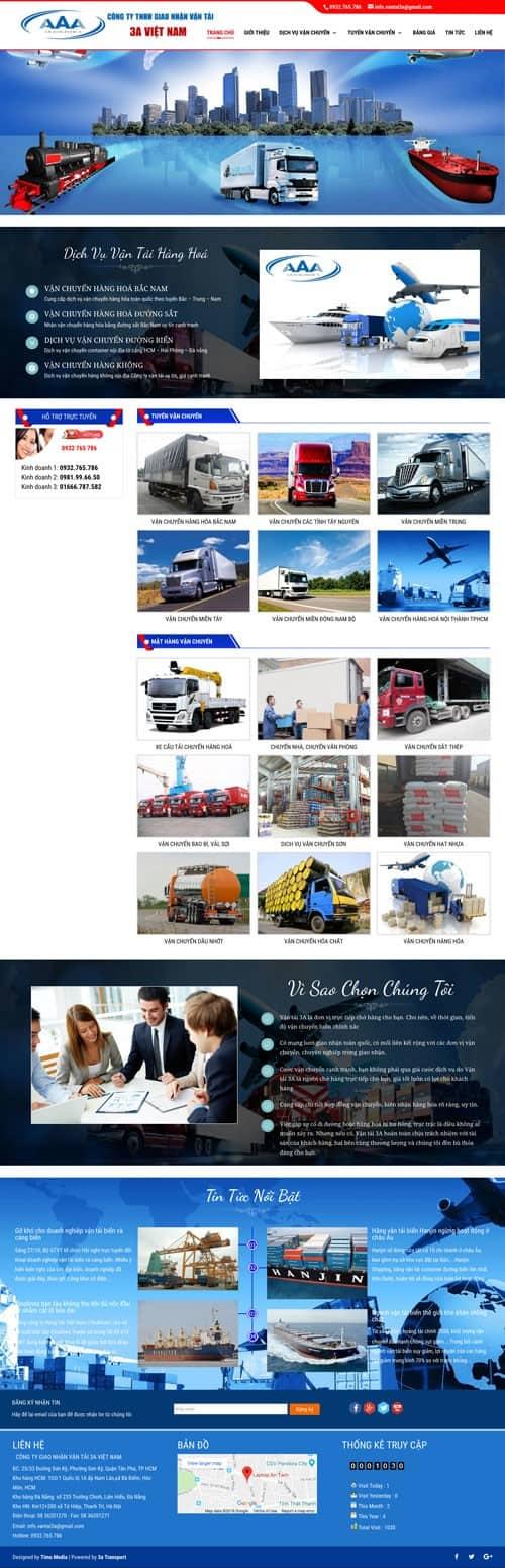 Web giới thiệu công ty 07