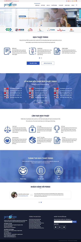 Web giới thiệu công ty 10