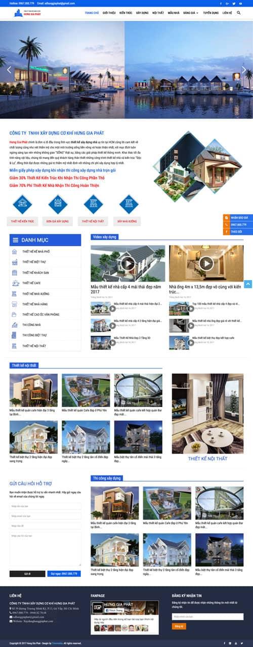 Web giới thiệu công ty 06