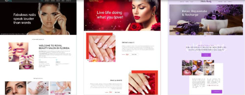 Thiet Ke Website Tiem Nails