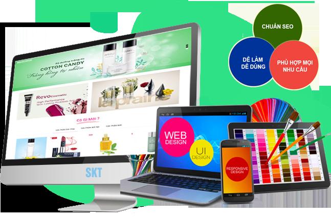 Thiết kế website bán hàng đẹp