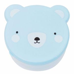 A little Lovely Company snack box bjørn blå