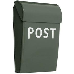 bruka design postkasse mini olivengrønn