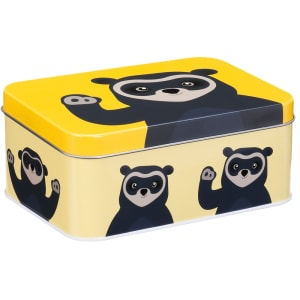 blafre brillebjørn matboks gul