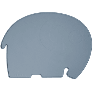 sebra elefant spisebrikke royal blue