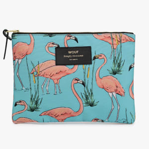 wouf pouch flamingo stor