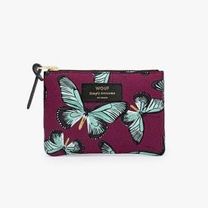 wouf pouch butterfly liten