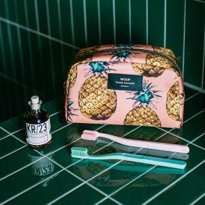 Wouf beauty bag ananas stor