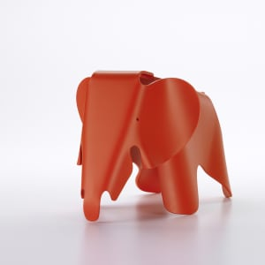vitra eames elephant liten rød