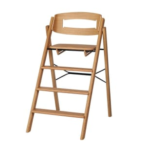 kaos klapp barnestol sammenleggbar eik