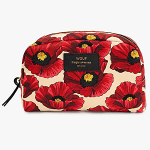Wouf beauty bag poppy stor