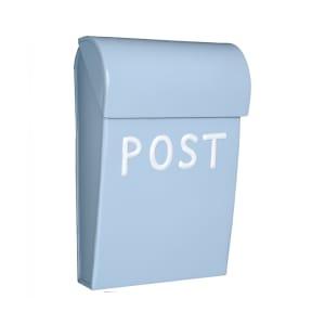 Bruka Design Postkasse Mikro Lys Blå