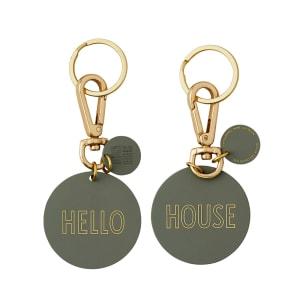 Design Letters Nøkkelring Hello