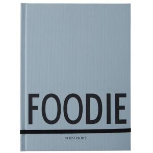 design letters oppskriftsbok foodie