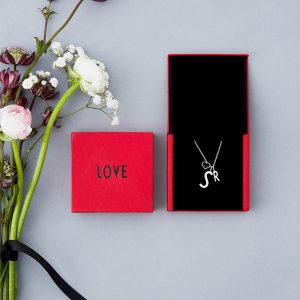 Design Letters charms archetype A-Z sølv liten