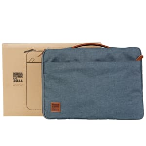 KREAFUNK aSLEEVE grey blue PU leather 13.3