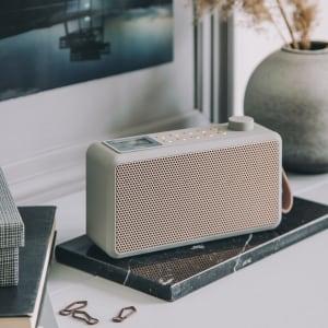 KREAFUNK tRADIO DAB+ radio cool grey