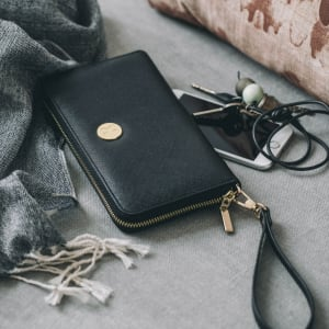 KREAFUNK cPURSE purse with power bank black