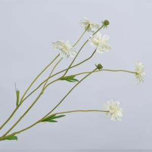 Silk-ka blomst Daisy spray cream