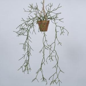 Silk-ka blomst hang succulent 68cm