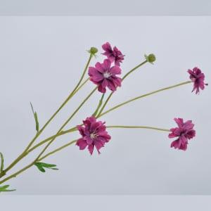 Silk-ka blomst Daisy purple 66cm