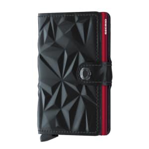 Secrid lommebok Miniwallet black red
