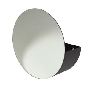 Broste Speil m/oppbevaring svart H16