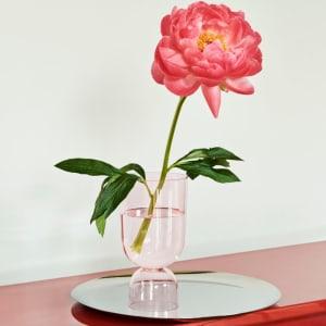 Hay Vase Bottoms Up Rosa Liten