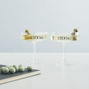 Design Letters Cocktailglass 2pk