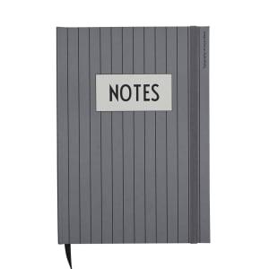 Design Letters Notatbok Notes Grå