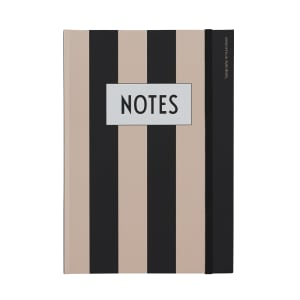 Design Letters Notatbok Notes Nude