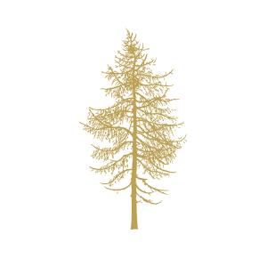Broste Serviett Winter Tree
