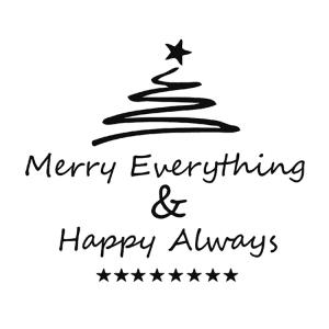 Broste Serviett Merry Everything
