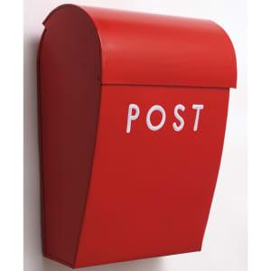 bruka design postkasse rød