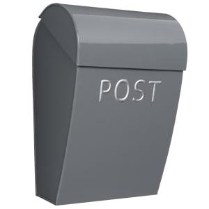 bruka design postkasse granittgrå