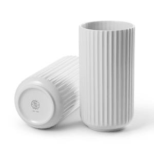 Lyngby vase 20cm hvit