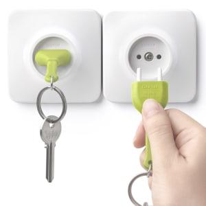 Qualy nøkkelring Unplug grønn