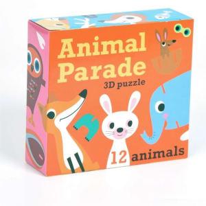 Omm Design 3D puslespill Animal Parade