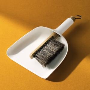 Menu feiesett Sweeper & Funnel hvit