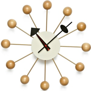 vitra ball clock natural