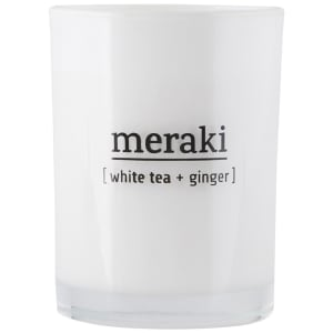 meraki duftlys hvit te & ingefær stor