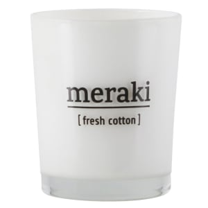 meraki duftlys fresh cotton lite
